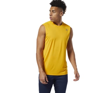 WOR Tech Sleeveless Top Semi Solar Gold DU2145
