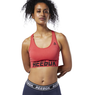 Top Deportivo Wor Myt Smless Padded Bra Rebel Red EC2296