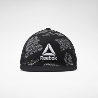 Gorra de Training Graphic Flat Peak Black EC5650