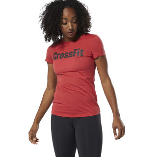 T-shirt Reebok CrossFit® Rebel Red DY8382