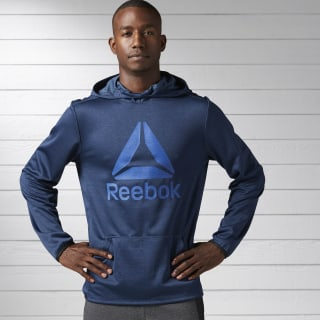 Sudadera Pullover Gráfica con Capucha Workout Ready Elitage Group COLLEGIATE NAVY BK3242