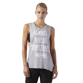 Training Supply Muscle Tank Medium Grey Heather CF8602