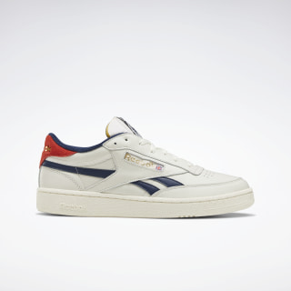 Club C Revenge Shoes Chalk / Collegiate Navy / Legacy Red EF3084