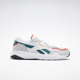 Reebok Royal Dashonic 2.0 Shoes White / Pure Grey 2 / Vivid Orange EF7706