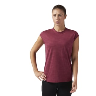 T-shirt Short Sleeve Urban Maroon CD5910
