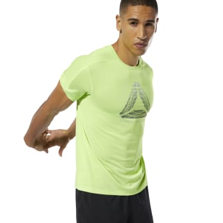 T-shirt Running Reflective Move Neon Lime DP6737