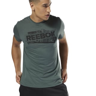 GS Reebok Decal Tee Chalk Green DH3788