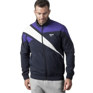 Reebok Archive Vector Tracktop Night Navy / White / Team Purple DW9160
