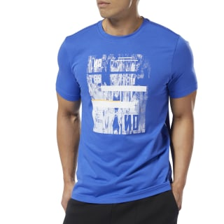 No-to-No Crewneck Tee Crushed Cobalt DU4689