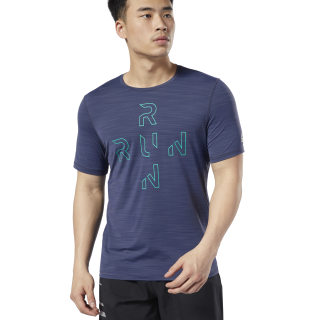 Camiseta One Series Running ACTIVCHILL Heritage Navy DY8317
