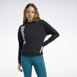 Training Essentials Linear Logo Sweatshirt Black FK6702