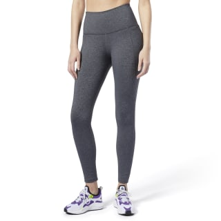 Tights de corte alto Lux 2.0 Reebok Dark Grey Heather EC5885
