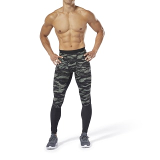 Reebok CrossFit® Compression Tights Hunter Green DP4569