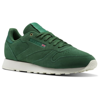 Classic Leather Montana Cans collaboration Fern Green/Chalk CM9607