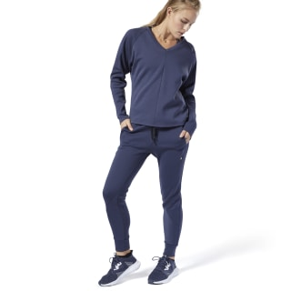 Pantalón Training Supply Knit Heritage Navy EC1216