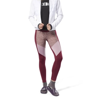 Mélange Tights Red DH2019