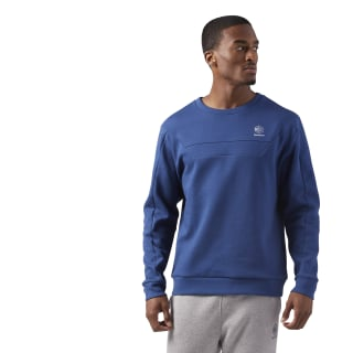 Long Sleeve Crewneck Shirt Washed Blue CE5003