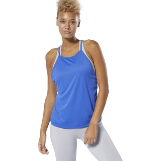 WOR Meet You There Tank Top Crushed Cobalt DU4834