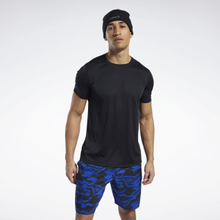 Workout Ready Polyester Tech Tee Black FP9092