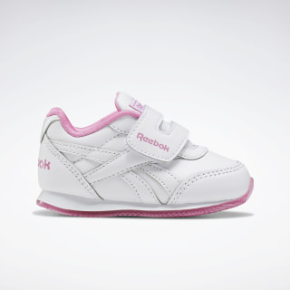 Reebok Royal Classic Jogger 2.0 Shoes White / Posh Pink / None EF3748