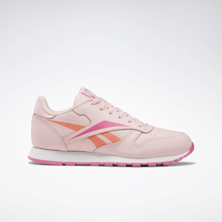 Classic Leather Shoes Polished Pink / White / Polished Pink EF8632