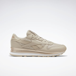 Scarpe Classic Leather Modern Beige / Rose Gold / White EG6324