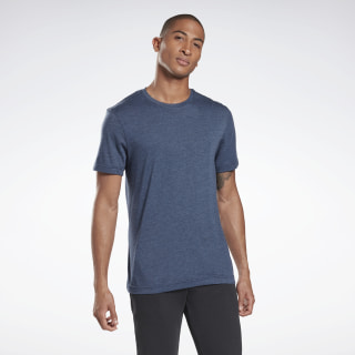Tri-Blend Crew T-Shirt Collegiate Navy DU4628