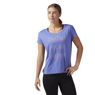 Camiseta gráfica Further Together LUCID LILAC F16-R CW4079