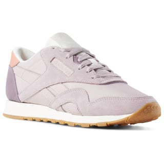 Zapatillas Classic Leather Nylon color block-ashen lilac / orchid / pink / chalk / gum CN6686