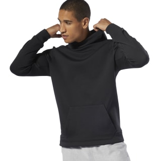 Sweat à capuche en maille double WOR Black DU2162