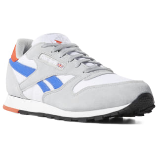 Classic Leather White / Grey / Cobalt / Orange DV4395