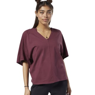 T-shirt Training Supply Lux Maroon EC1231