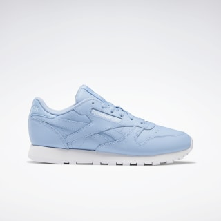 Classic Leather Shoes Fluid Blue / White / Glass Blue EF3036