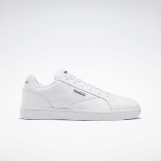 Reebok Royal Complete Clean LX Shoes White / Black / White EF7487