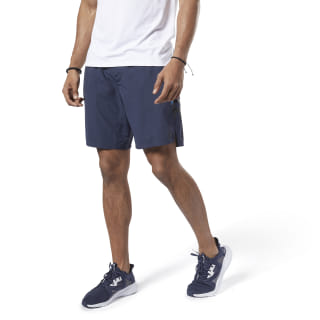 Short One Series Training Colorblock Heritage Navy EC0985