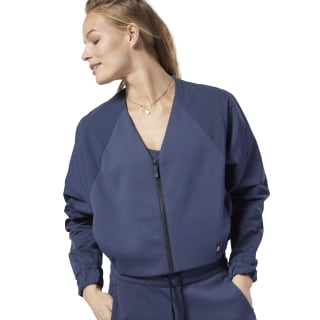 Campera Training Supply Fashion Coverup Heritage Navy DY8192