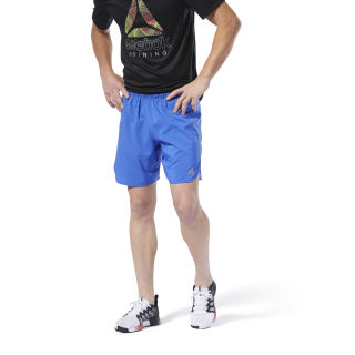 Run Essentials 7 Inch Shorts Crushed Cobalt DU4308