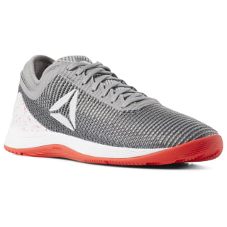 Reebok CrossFit Nano 8 Shark/Tin Grey/Ash Grey/Neon Red/White DV5815
