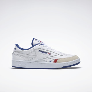 Reebok x Bronze 56K Club C Revenge Shoes White / True Grey 1 / Cobalt FU7915
