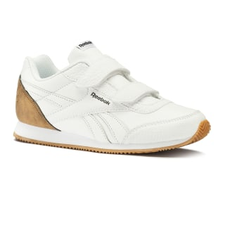 Reebok Royal CLJOG 2 2V White / Dark Brown / Tan DV6944