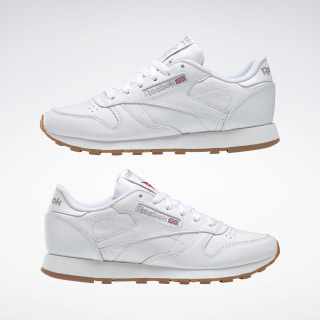 Reebok Classic Leather Trainers WhiteGum in 2020 | Vintage