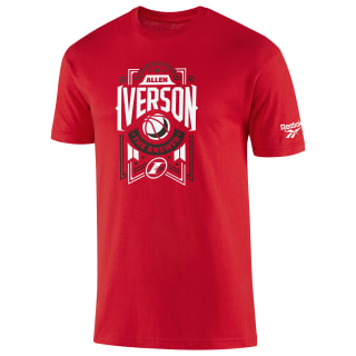 Iverson Answer Red Tee Red BI0550