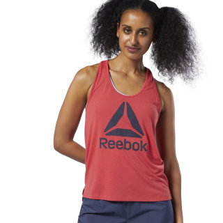 WOR Supremium Logo Tank Top Rebel Red EC2284