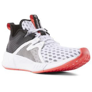 Fusium Run 2 White / Black / Neon Red / Silver CN6392