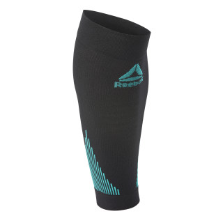 Knitted Compression Calf Sleeve - Black Black CM0125