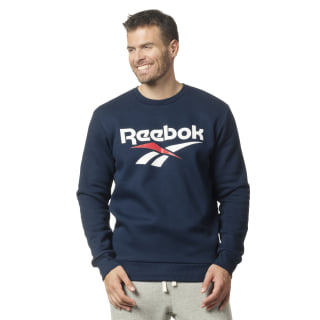 Classic vector crew neck Collegiate Navy DY1121