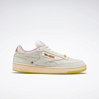Tom and Jerry Reebok Club C Revenge Shoes Chalk / Chalk / Quiet Pink FW4681