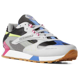 Tenis Classic Leather Ati 90S skull grey / blk / pink / lime DV5375