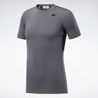Workout Ready Compressie T-shirt Cold Grey 6 FP9119