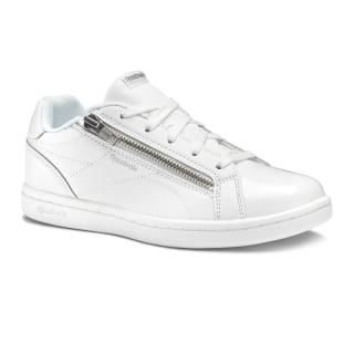 Reebok Royal Complete Clean Zip- White/Silver DV3673